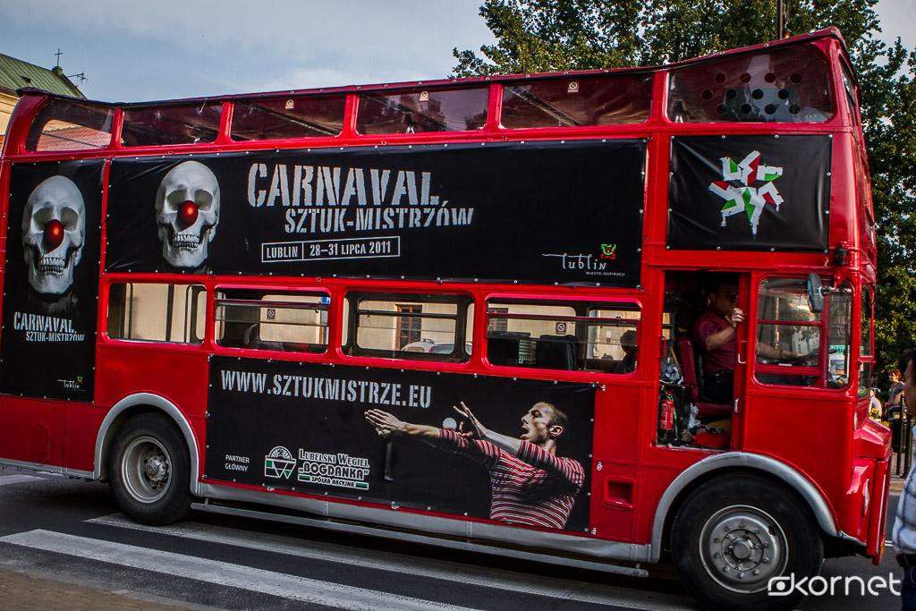 Wielka Parada Kuglarska Carnaval Sztuk – Mistrzów 2011